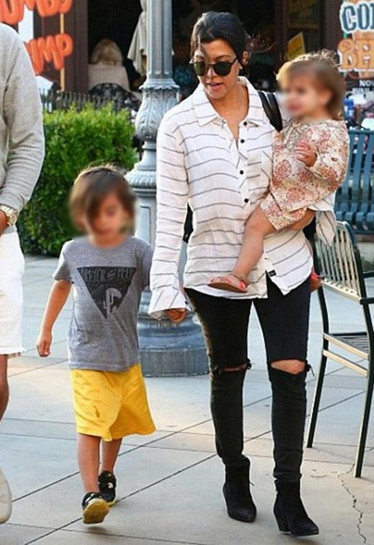 Kourtney Kardashian in Rails