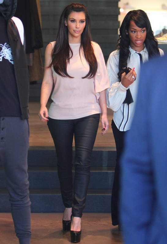 Kim Kardashian in Washborn