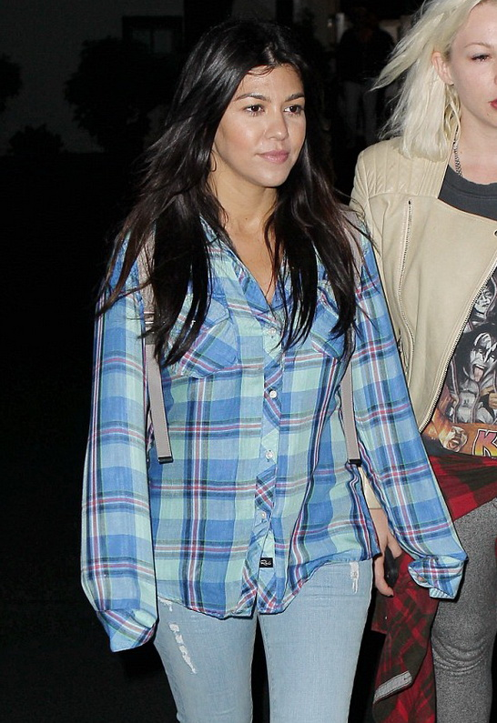 Kourtney Kardashian in Rails