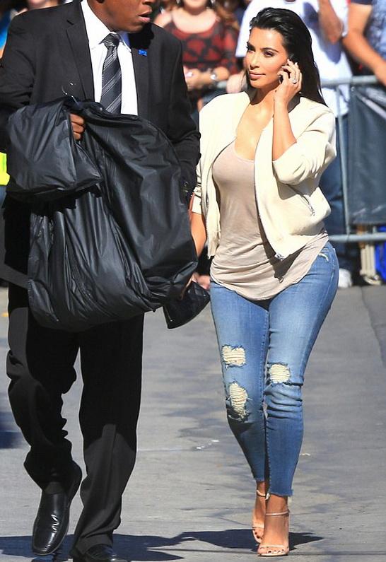 Kim Kardashian in J Brand