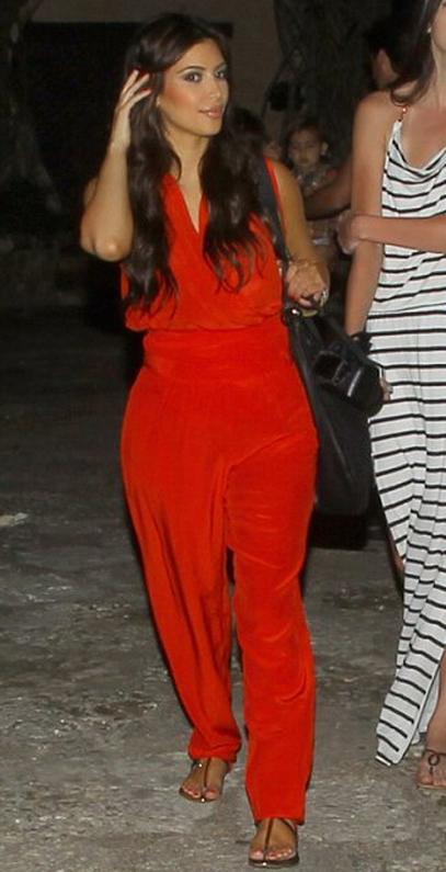 Kim Kardashian in Maurie & Eve