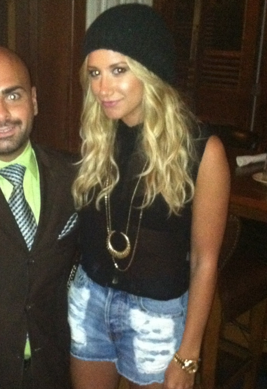 Ashley Tisdale in MINKPINK