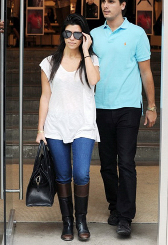 Kourtney Kardashian in Henry & Belle