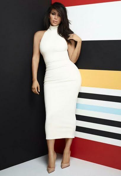 Kim Kardashian in Torn by Ronny Kobo