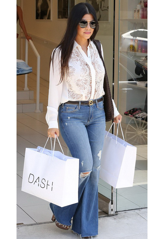 Kourtney Kardashian in McGuire