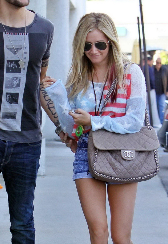 Ashley Tisdale in Wildfox