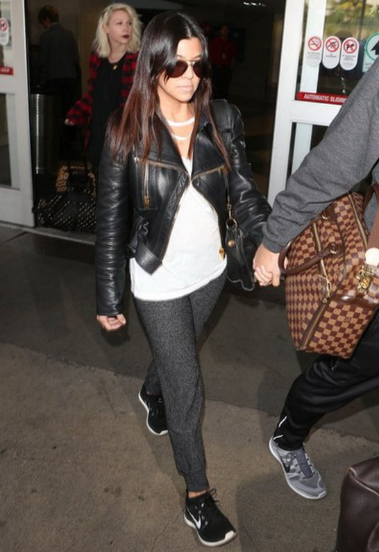 Kourtney Kardashian in LnA