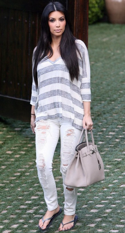 Kim Kardashian in Siwy Denim