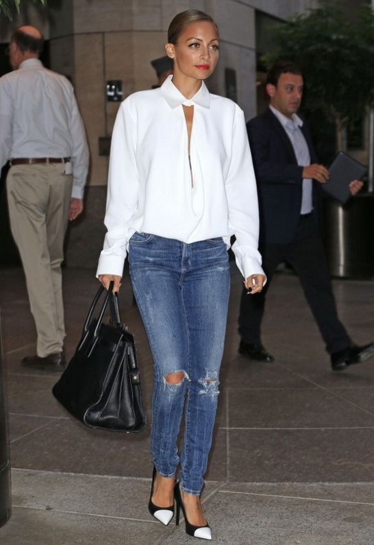 ad28983d6a95b ... Skinny Jean. Nicole Richie in Citizens of Humanity