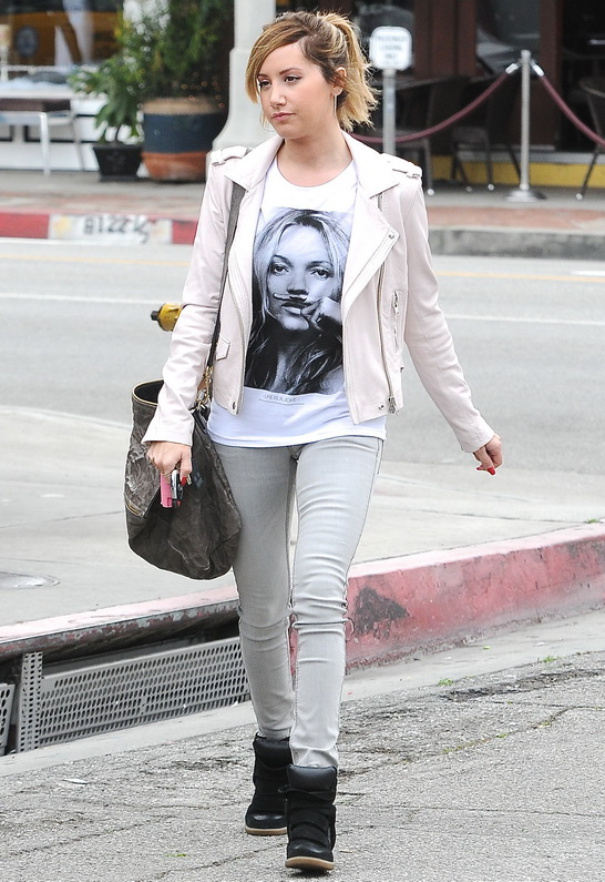 Ashley Tisdale in Eleven Paris