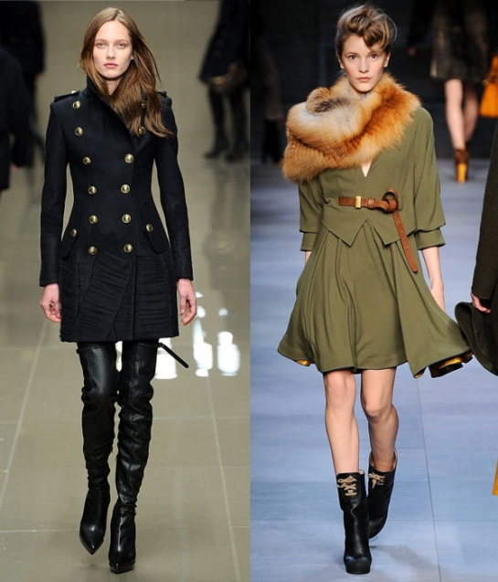 image of military fashion jackets and tights