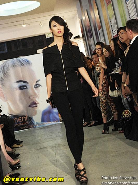 image of Chan.nel Karama LTD at SFFW 2010 black jumper