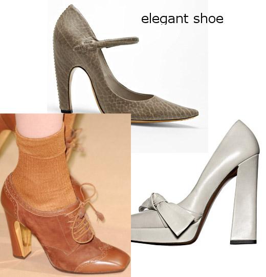 womens fall 2010 elegant shoes trend