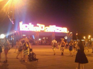 image of lalapalooza entrance 2010
