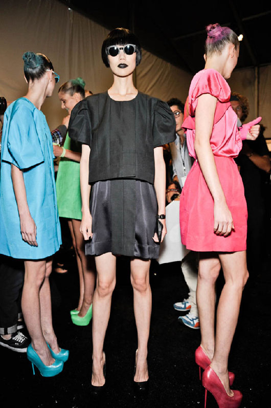 image of Alexandre Herchcovitch black dress