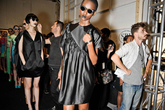 image of Alexandre Herchcovitch black outfits