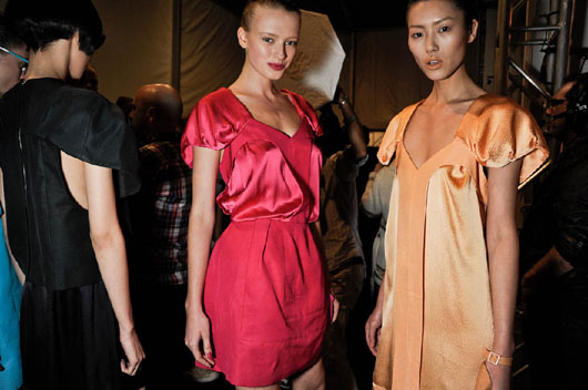 image of Alexandre Herchcovitch pink dress