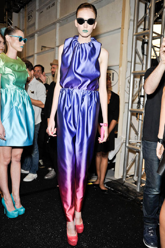 image of Alexandre Herchcovitch purple jumpsuit