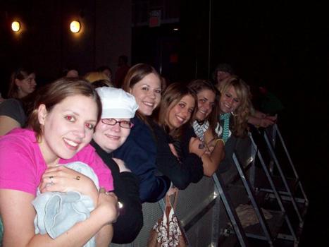 image of Alisha Espey with friends