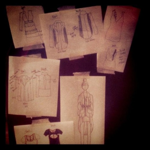 Jennifer Ly Fashion Sketches