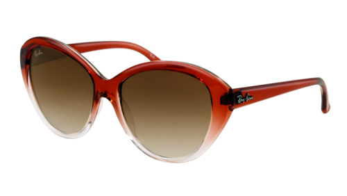image of Ray-Ban-Red-cat-eye-glasses