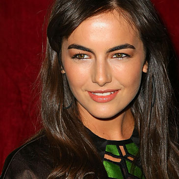 image of strong eyebrows camilla belle