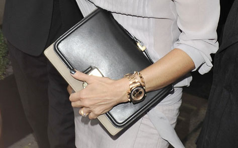 image of womens large watch