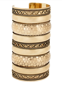 image of ASOS Wide Patterned Textured Cuff