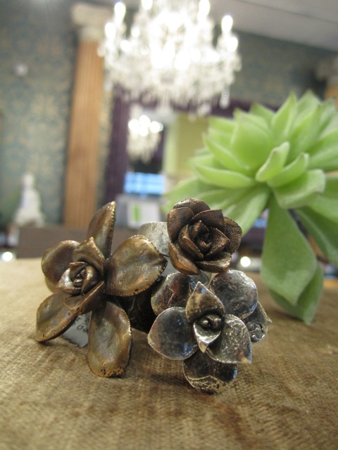 image of Gallery of Jewels Succulent ring
