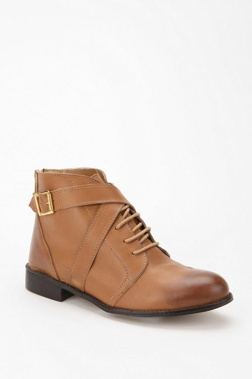 image of ecote leather booties