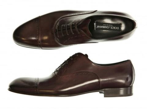 image of Men's Dress Shoe Dolce & Gabbana Stitch Dress Shoes