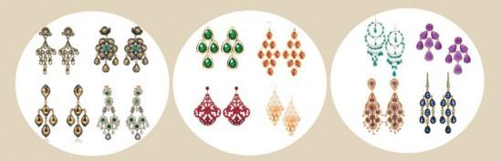 image of chandelier earrings 2012