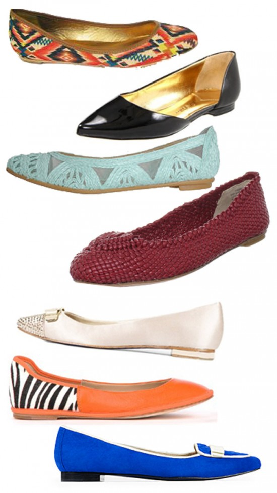 image of flats for fall 2012