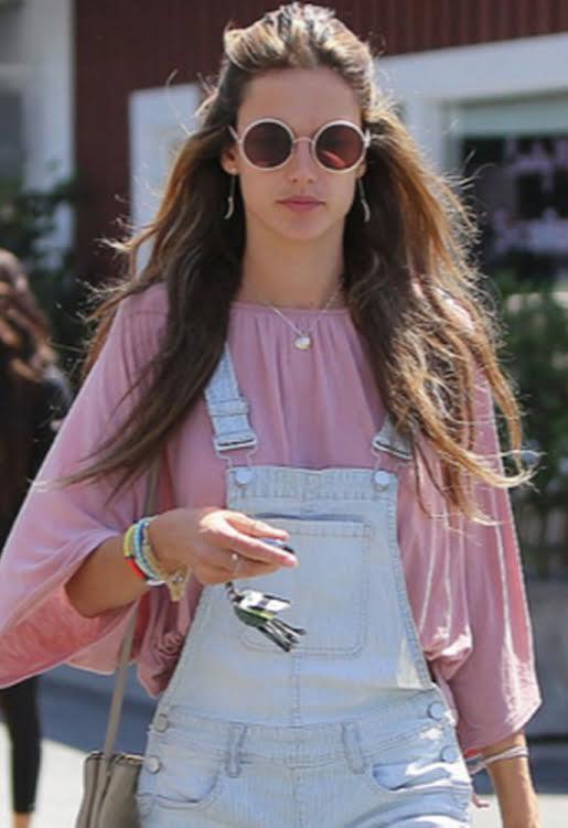 Alessandra Ambrosio in Sunday Somewhere