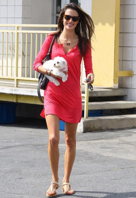 Alessandra Ambrosio in Quay Eyewear