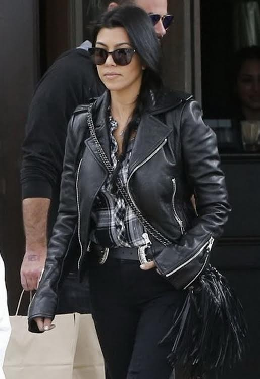 Kourtney Kardashian in B-Low the Belt