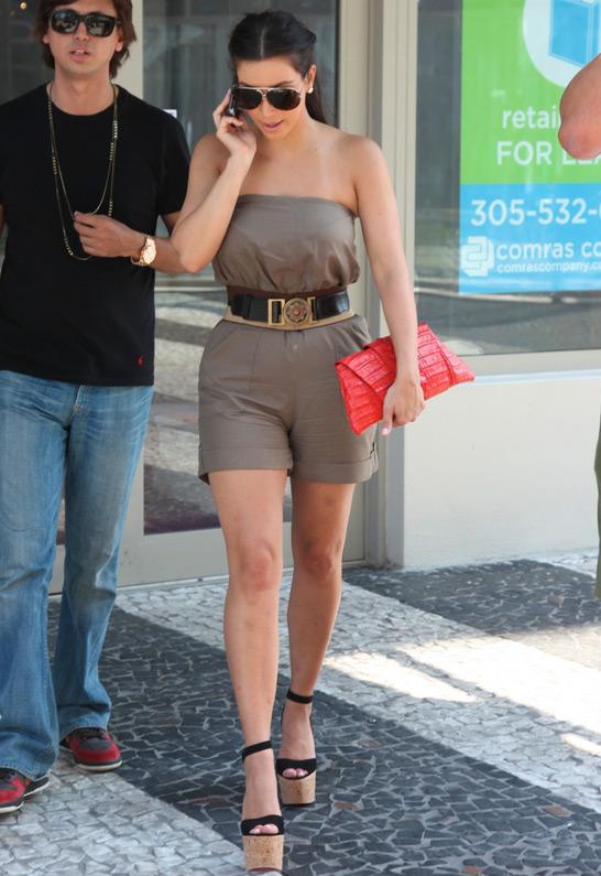 Kim Kardashian in Juliette Jake