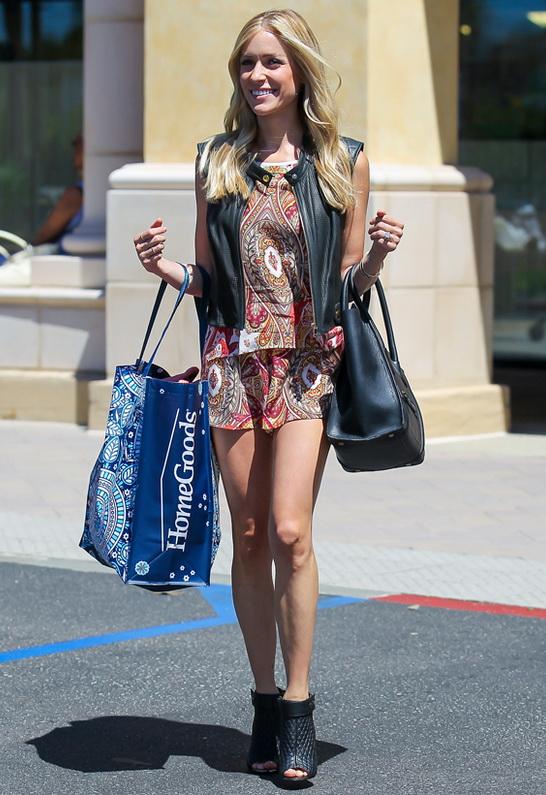 Kristin Cavallari wearing Kristin Cavallari Larissa Bootie