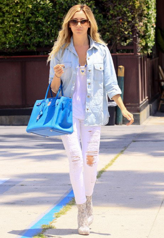 Ashley Tisdale in Current/Elliott