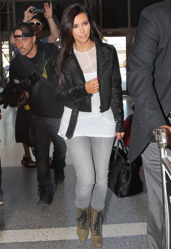 Kim Kardashian in Black Orchid