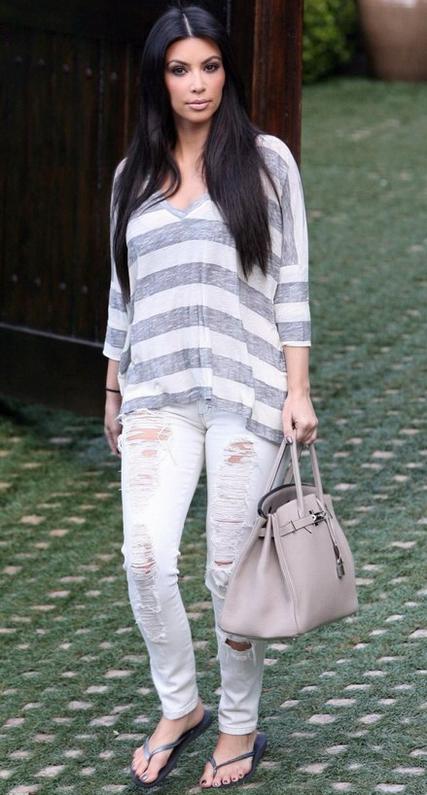 Kim Kardashian in Siwy Denim