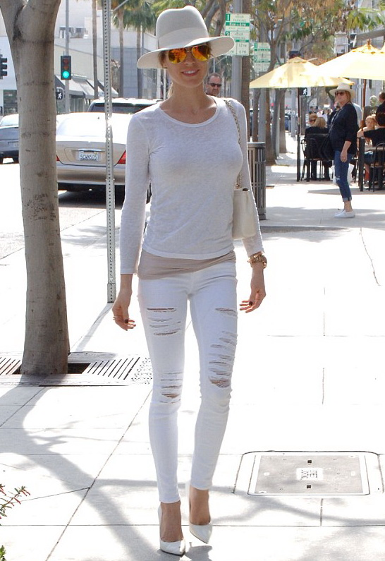 Kristin Cavallari in FRAME Denim